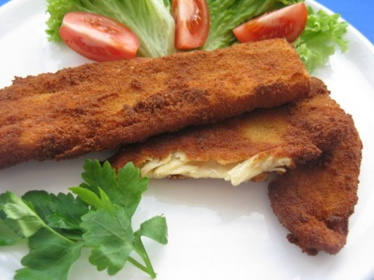 fake chicken cutlet